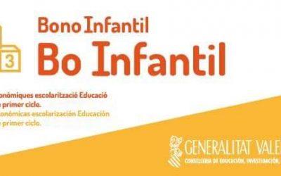 Bono Infantil 2020-2021 Valencia