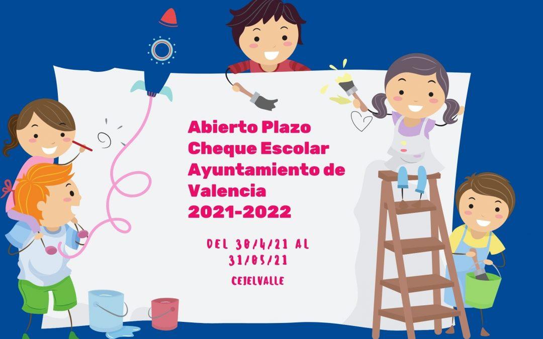 Cheque escolar 2021-2022